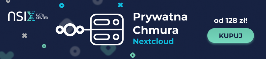 Prywatna chmura Nextcloud