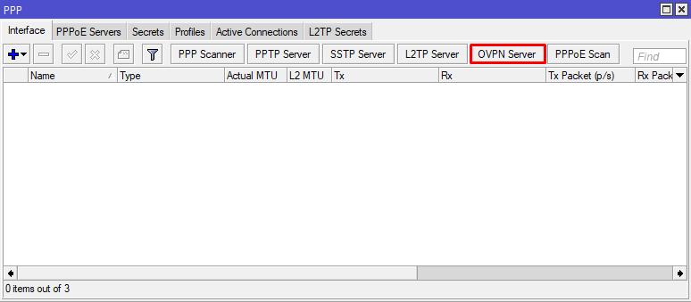 ovpn serwer