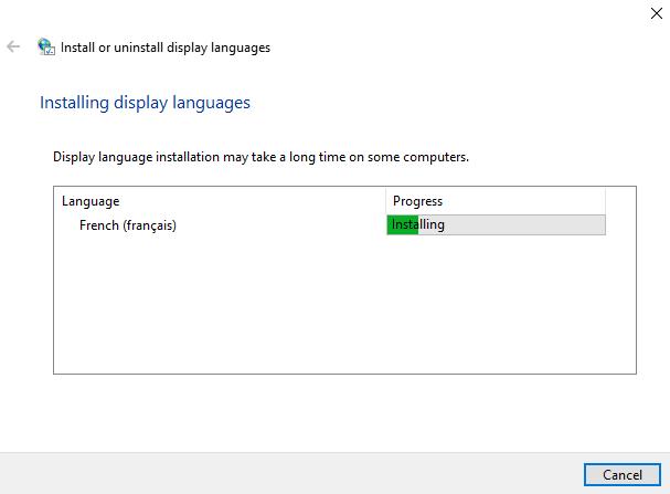 manualna instalacja języka